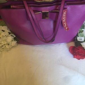 Purple Merona Bag NWT